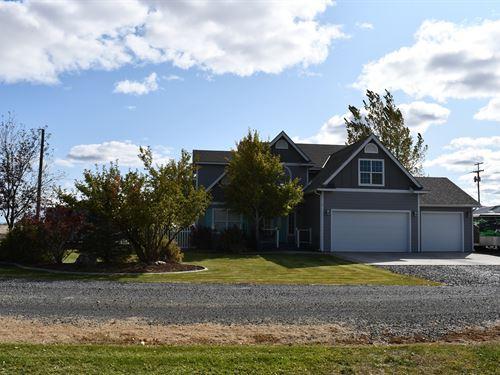 Hwy 20 East Farm : Burns : Harney County : Oregon