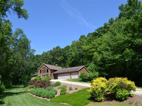 Country Home 10 Acres, Everything : Mindoro : La Crosse County : Wisconsin