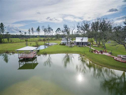 Elimelech Farm 8992 GA Highway 110 : Woodbine : Camden County : Georgia