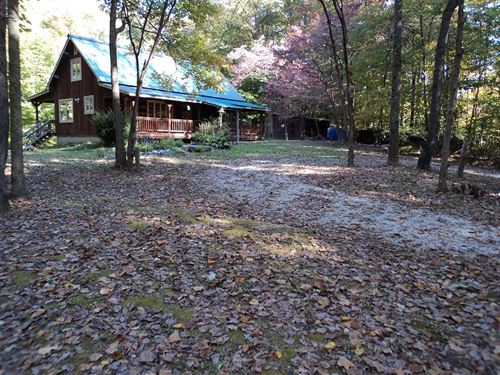 Land For Sale, Beautiful Cabin Si : Spencer : Owen County : Indiana