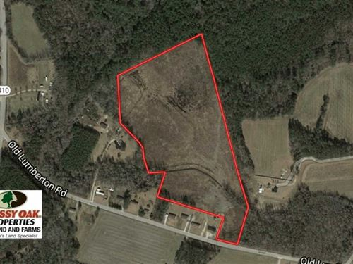 25.9 Acres of Residential And Hunt : Whiteville : Columbus County : North Carolina
