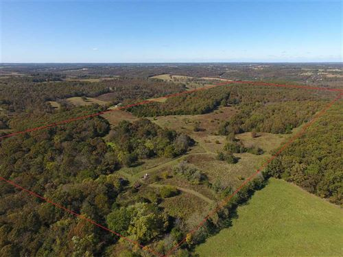 Recreation/Farm Land Near Crane : Crane : Stone County : Missouri