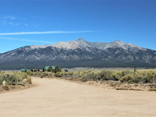 Live Free Ride Hard 5 Acres $69/Mo : Blanca : Costilla County : Colorado