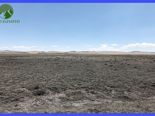5.04 Acres Of Flat, Buildable Land : Hartsel : Park County : Colorado