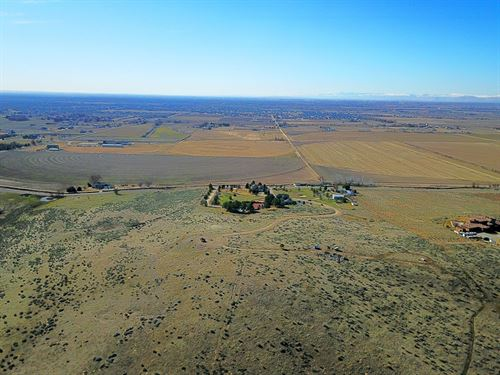 Private 5 Acre Building Lot North : Eagle : Ada County : Idaho