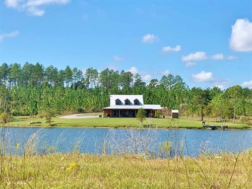 Hunting Lodge, 320 Acres Land : Lucedale : Greene County : Mississippi