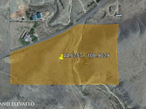 Desert Property For Growing : Powell : Park County : Wyoming