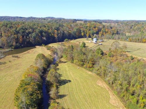Beautiful 90 Acre Country Estate : Floyd : Virginia