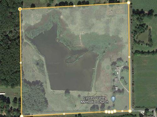 39 Acres Corner Lot in Vilonia : Vilonia : Faulkner County : Arkansas