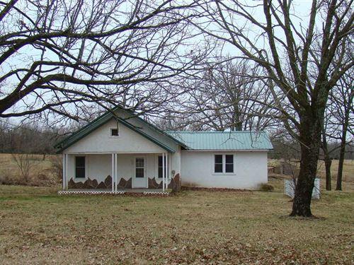 20 Acres With 3 Bedroom 2 Bath Hom : Norwood : Wright County : Missouri