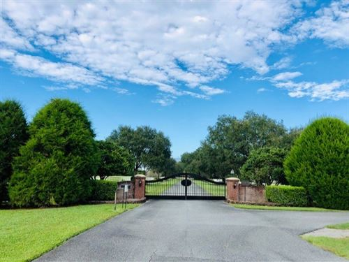 Custom Home on 68 Acres 778935 : Old Town : Dixie County : Florida