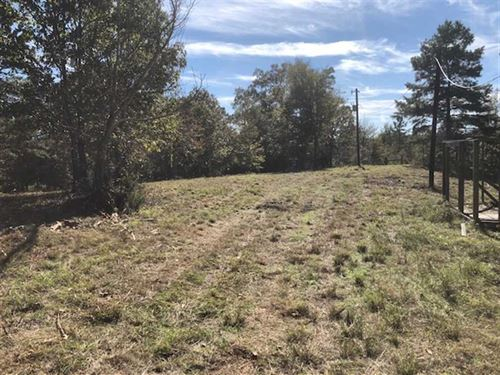 Great Homesite With Pond : Rusk : Cherokee County : Texas