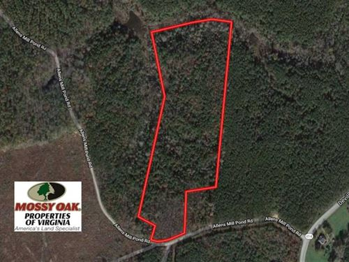 Under Contract, 18.5 Acres of Hu : Little Plymouth : King And Queen County : Virginia