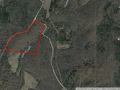 24 Acres to Hunt, Build on or : Poughkeepsie : Sharp County : Arkansas