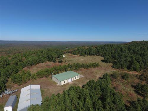 Combination Property Latimer County : Wilburton : Latimer County : Oklahoma