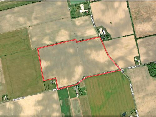 52.96 Acres Tillable Land : Radnor : Delaware County : Ohio