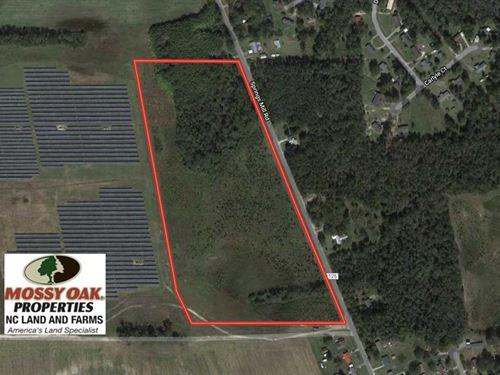 26 Acres of Farm And Timber Land : Laurel Hill : Scotland County : North Carolina