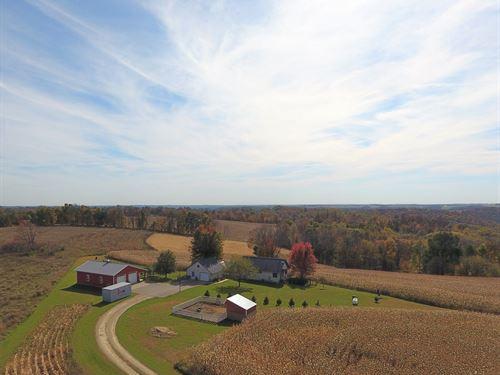 Country Home Hobby Farm SW : Hillsboro : Richland County : Wisconsin