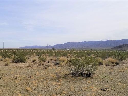 Views, Access, Affordable, $277/Mo : Twentynine Palms : San Bernardino County : California