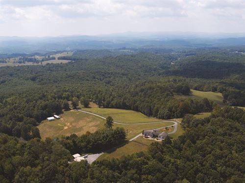 Horse Farm on 35 Acres : Floyd : Virginia