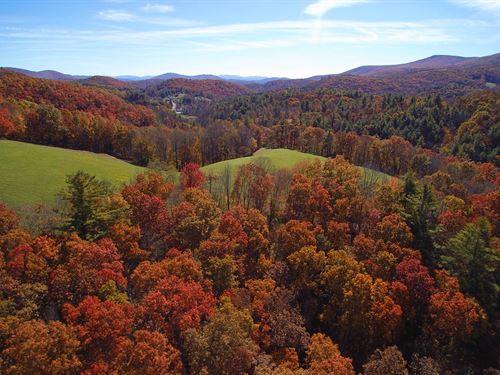 Big View Acreage : Troutdale : Grayson County : Virginia