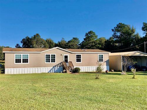 N Florida Country Home 5 Acres : Trenton : Gilchrist County : Florida