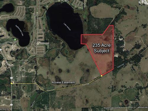 235 Acre Development Site : Lake Wales : Polk County : Florida