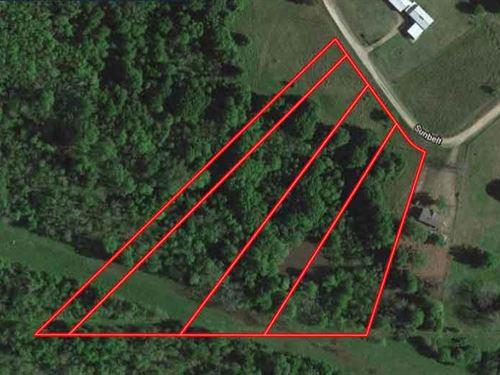 7.16 Acres in Henderson County, TX : Kemp : Henderson County : Texas