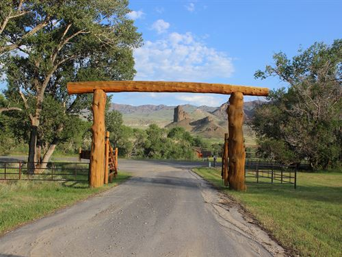 Bull Creek Ranch : Cody : Park County : Wyoming