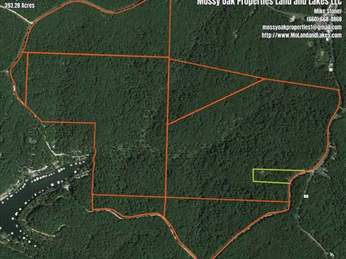 Great 383 Acre Recreational Tract : Rocky Mount : Morgan County : Missouri