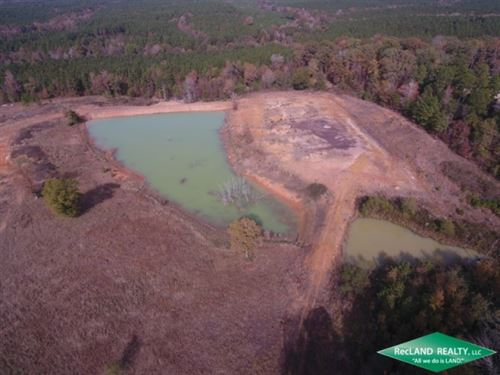 16.3 Ac, Home Site Tract With Pond : Crossroads : Union Parish : Louisiana