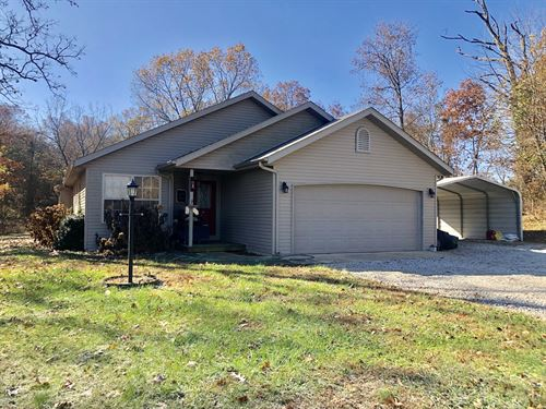 Contemporary Home With Acreage : Norwood : Wright County : Missouri