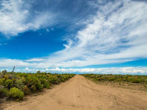 5 Acres, Mobile Home Lot : Sanford : Costilla County : Colorado