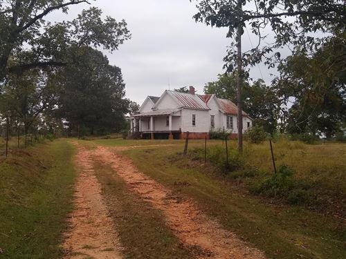 Beautiful Hunting Property : Dadeville : Tallapoosa County : Alabama