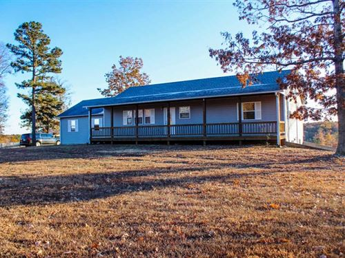 Home on 34 Acres in Ellsinore, Mis : Ellsinore : Carter County : Missouri