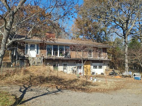 Home With 38 Acres : Clarksville : Johnson County : Arkansas