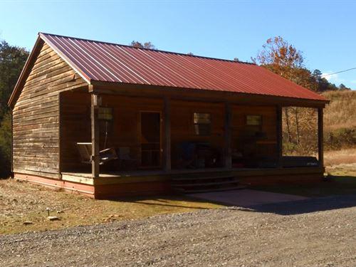 Cabin At Horsehead Lake Ozark : Clarksville : Johnson County : Arkansas