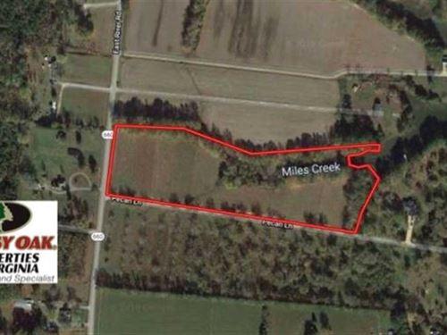 10.28 Acres of Residential Land Fo : Cardinal : Mathews County : Virginia
