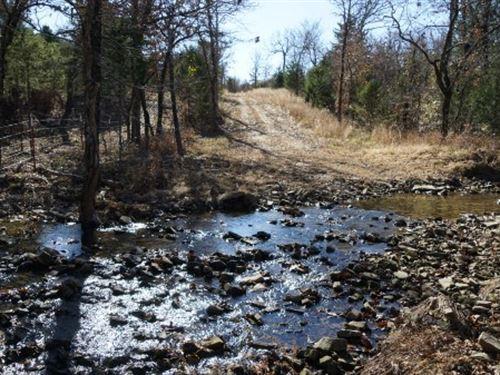 Oklahoma Hunting Ranch Development : Stigler : Haskell County : Oklahoma