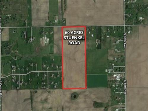 60 Ac Stuenkel Rd Farm : Frankfort : Will County : Illinois