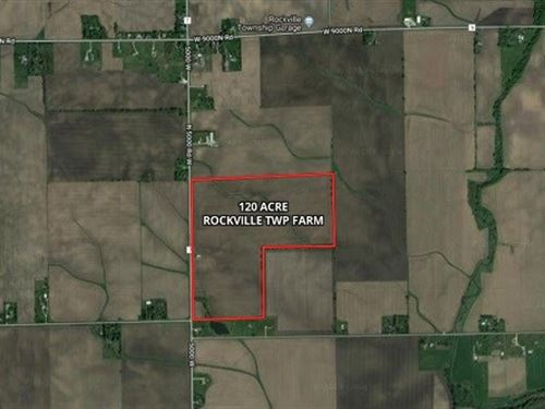 120 Acres Rockville Township Farm : Manteno : Kankakee County : Illinois