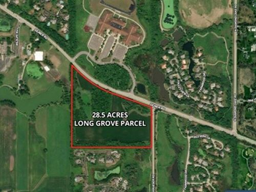28 Acre Long Grove Residential Dev : Long Grove : Lake County : Illinois