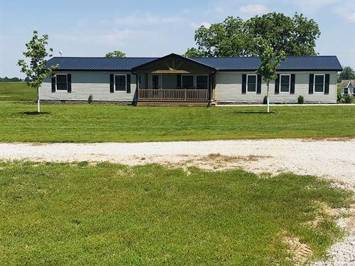 MO Crp Farm, Hunting, Rural Home : Downing : Scotland County : Missouri