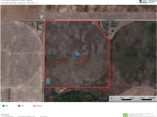 150 Acres Crep, Hunting, Pasture : Pierceville : Finney County : Kansas