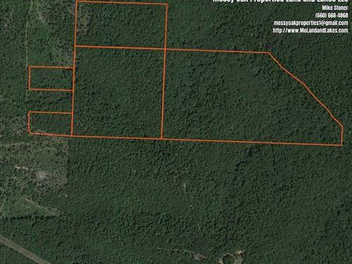 139 Acre Hunting And Recreation Pr : Camdenton : Camden County : Missouri
