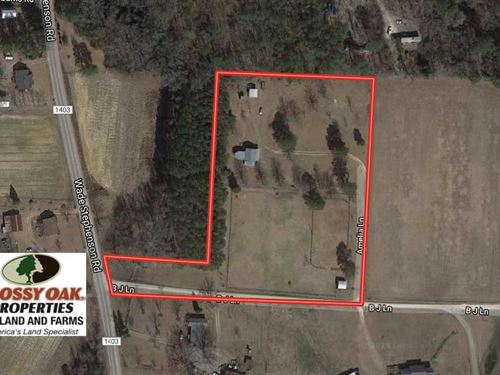 5.7 Acres of Agriculture/Business : Holly Springs : Harnett County : North Carolina