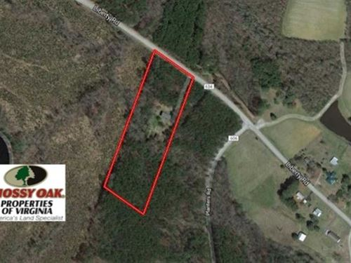 6.64 Acres of Residential Land Wit : Dolphin : Brunswick County : Virginia