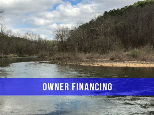 Owner Financed 8 Acres on River : Ava : Douglas County : Missouri
