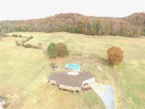 House & 34 Acres Near Jacksonville : Jacksonville : Calhoun County : Alabama