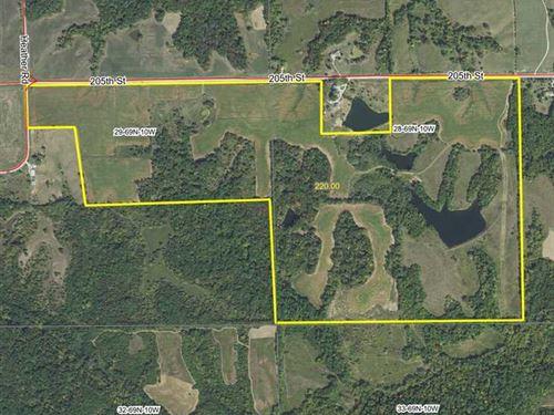 220 Acres Van Buren County, IA Lan : Keosauqua : Van Buren County : Iowa